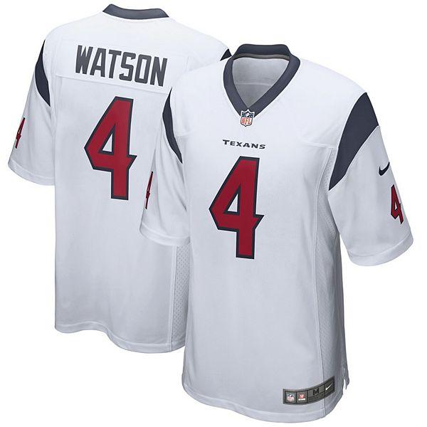Youth Nike Deshaun Watson White Houston Texans Game Jersey