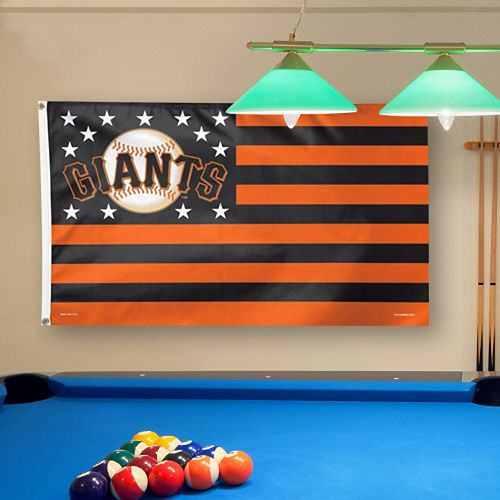 WinCraft San Francisco Giants Deluxe Stars & Stripes 3' x 5' Flag