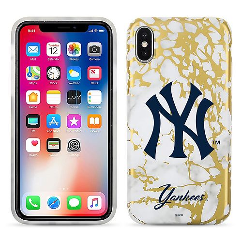 New York Yankees Marble iPhone X Case