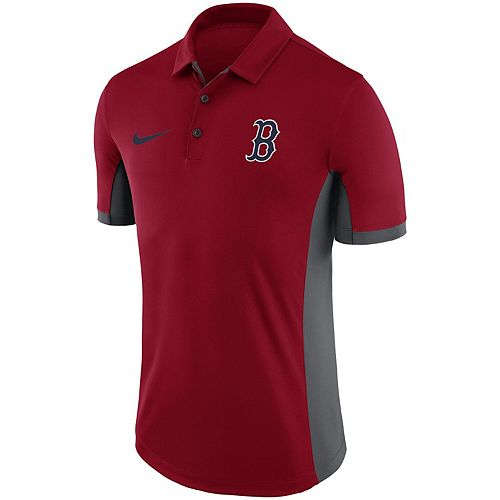 Men's Nike Red Boston Red Sox Franchise Performance Polo