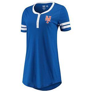 Women's Concepts Sport Royal New York Mets Duo Nightshirt