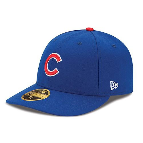 Men's New Era Royal Chicago Cubs Authentic Collection On Field Low Profile Game 59FIFTY Fitted Hat