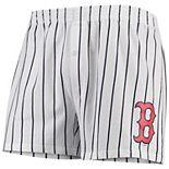 Men's Concepts Sport White Boston Red Sox Vigor Boxer Shorts
