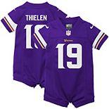 Infant Nike Adam Thielen Purple Minnesota Vikings Romper Jersey