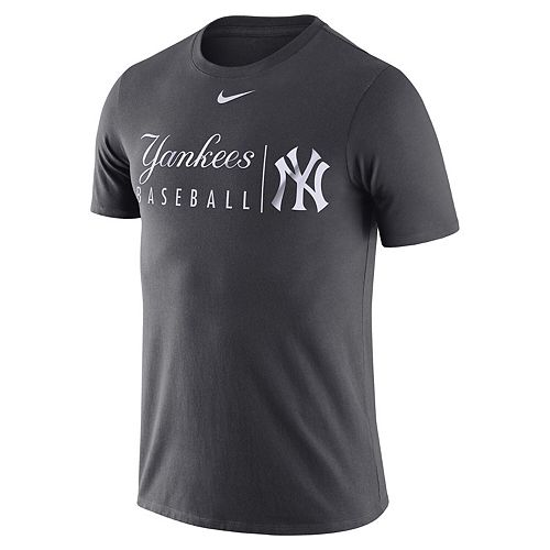 Men's Nike Anthracite New York Yankees MLB Practice T-Shirt