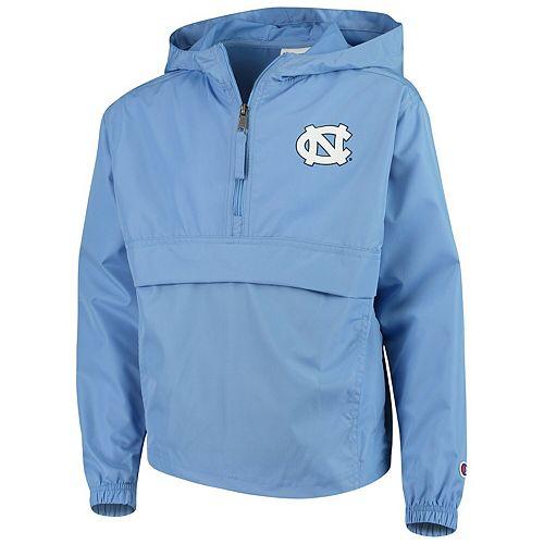 Youth Champion Carolina Blue North Carolina Tar Heels Pack & Go Windbreaker Jacket