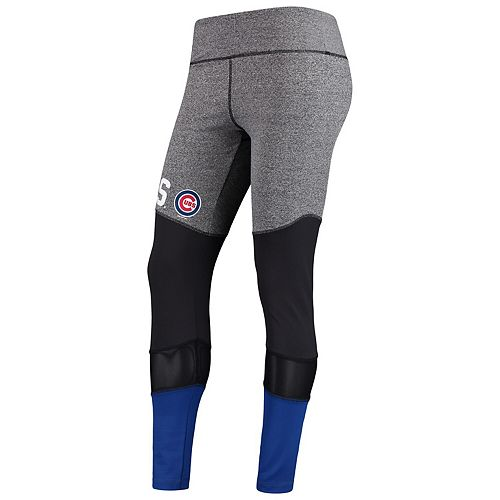 Women's G-III 4Her by Carl Banks Gray Chicago Cubs High Stepping Leggings