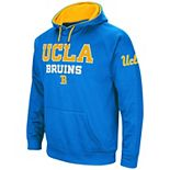 Men's Colosseum Blue UCLA Bruins Performance Pullover Hoodie