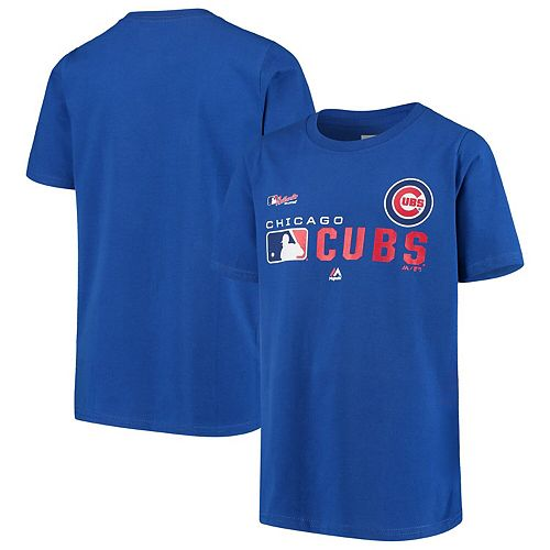 Youth Royal Chicago Cubs Authentic Collection Undefeated T-Shirt