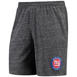 Men's Concepts Sport Charcoal New York Giants Pitch Knit Shorts