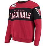 Men's G-III Extreme Cardinal Arizona Cardinals Wildcat Crew Sweater