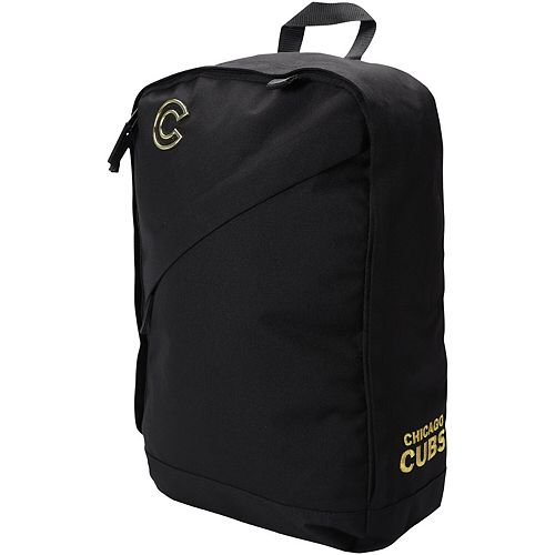 New Era Chicago Cubs Black Out Split Backpack