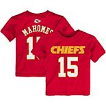 Preschool Patrick Mahomes Red Kansas City Chiefs Mainliner Name & Number T-Shirt