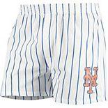 Men's Concepts Sport White New York Mets Vigor Boxer Shorts