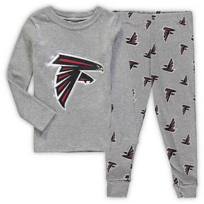 Toddler Heathered Gray Atlanta Falcons Sleep Set