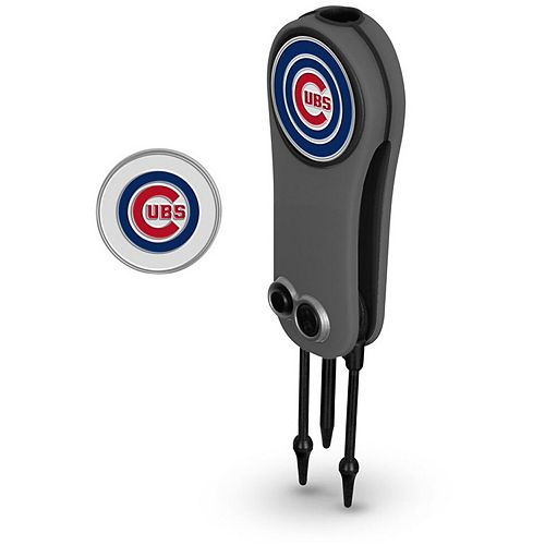 Chicago Cubs Switchblade Repair Tool & Two Ball Markers