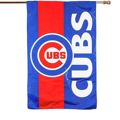 Chicago Cubs Embellish House Flag