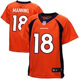 Toddler Denver Broncos Peyton Manning Nike Orange Game Jersey