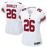 Women's Nike Saquon Barkley White New York Giants Game Jersey