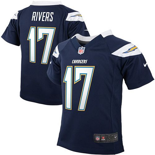 hot sale online 69227 82672 Infant Los Angeles Chargers Philip Rivers Nike Navy Blue Team Color Game  Jersey