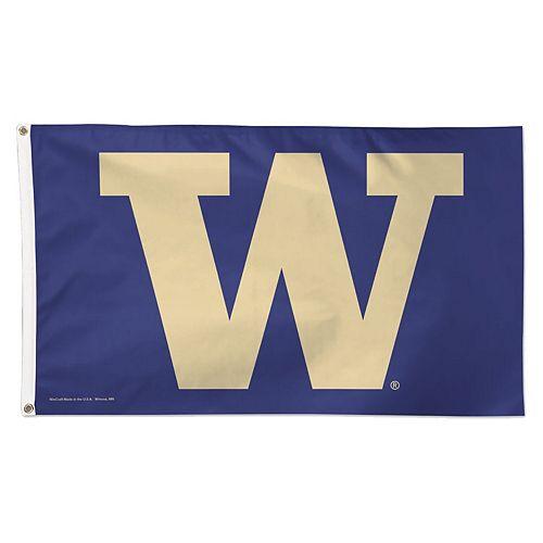 WinCraft Washington Huskies Deluxe 3' x 5' One-Sided Flag