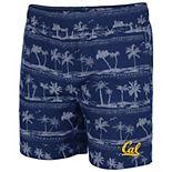 Men's Colosseum Navy Cal Bears Maui Swim Shorts