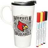 Louisville Cardinals 17oz. Just Add Color Perfect Cup