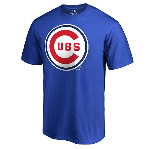 Men's Fanatics Branded Royal Chicago Cubs Cooperstown Collection Forbes T-Shirt