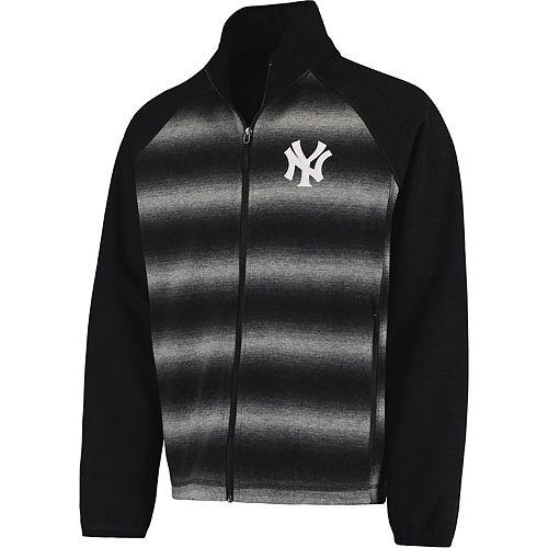 Men's G-III Sports by Carl Banks Black New York Yankees Discovery Full-Zip Jacket