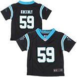 Toddler Carolina Panthers Luke Kuechly Nike Black Team Color Game Jersey