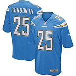 Men's Nike Melvin Gordon Powder Blue Los Angeles Chargers Game Player Jersey