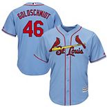 Men's Majestic Paul Goldschmidt Light Blue St. Louis Cardinals Alternate Official Cool Base Player Jersey