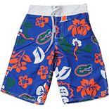 Youth Wes & Willy Royal Florida Gators Swim Trunks