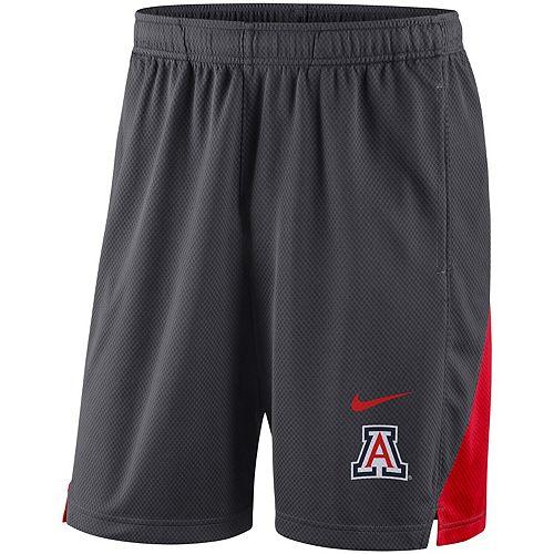 Men's Nike Charcoal Arizona Wildcats Franchise Shorts