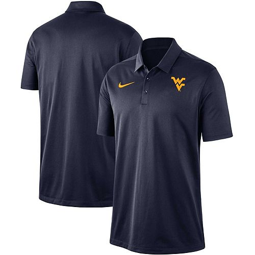 Men's Nike Navy West Virginia Mountaineers Franchise Performance Polo