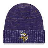 Men's New Era Purple Minnesota Vikings 2017 Color Rush Knit Hat
