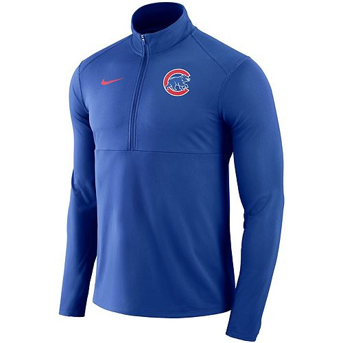 Men's Nike Royal Chicago Cubs Dry Element Half-Zip Performance Pullover