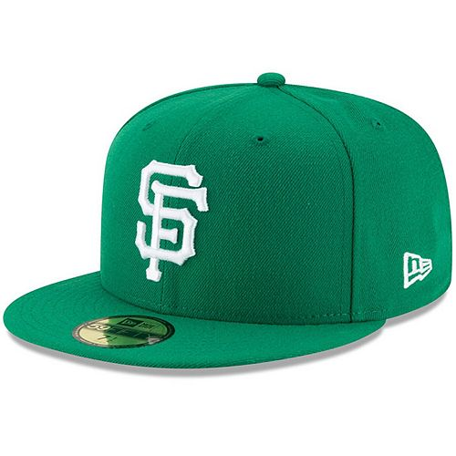 Men's New Era Green San Francisco Giants Fashion Color Basic 59FIFTY Fitted Hat