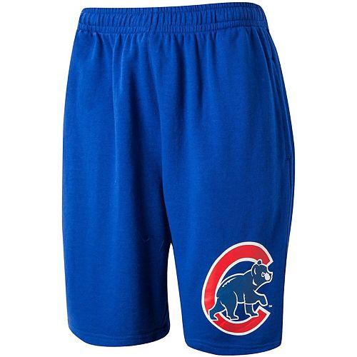 Men's Concepts Sport Royal Chicago Cubs Frontrunner Knit Jam Lounge Shorts