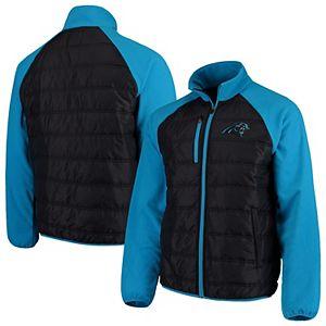 Carolina Panthers NFL Mens G-III Sports by Carl Banks Gridiron V-Neck Pullover Jacket