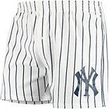 Men's Concepts Sport White New York Yankees Vigor Boxer Shorts