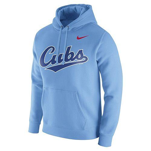 Men's Nike Blue Chicago Cubs Franchise Hoodie