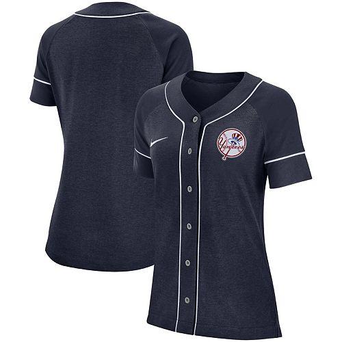 Women's Nike Navy New York Yankees Classic Baseball Jersey