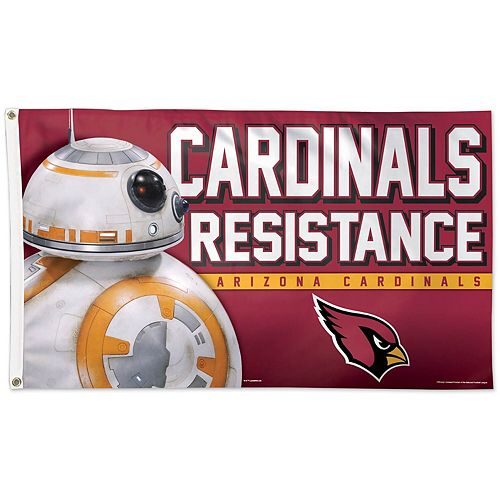 WinCraft Arizona Cardinals One-Sided 3' x 5' Deluxe Flag
