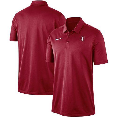 Men's Nike Cardinal Stanford Cardinal Franchise Performance Polo