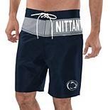 Men's G-III Sports by Carl Banks Navy/Gray Penn State Nittany Lions All-Star Swim Trunks