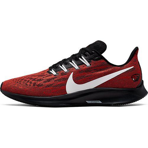 Men's Nike Orange/White Oregon State Beavers Air Zoom Pegasus 36 Running Shoes