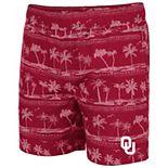 Men's Colosseum Crimson Oklahoma Sooners Maui Swim Shorts