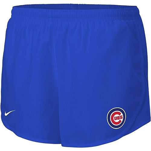 Women's Nike Royal Chicago Cubs Mod Tempo Performance Shorts