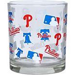 Philadelphia Phillies Full Wrap Rocks Glass